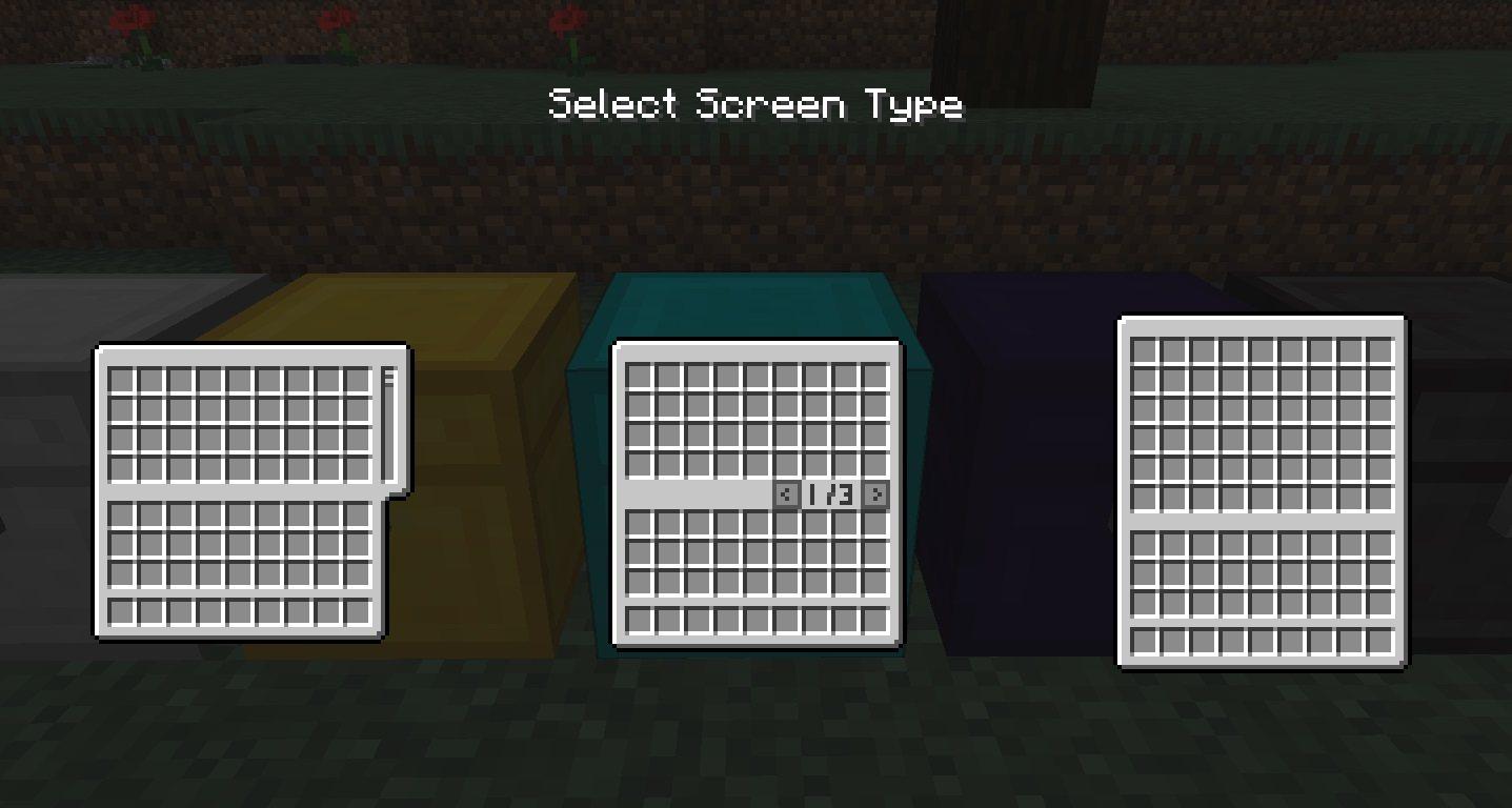 expanded storage zmiana okna GUI skrzyni przewijanie zakladki pojedyncze okno