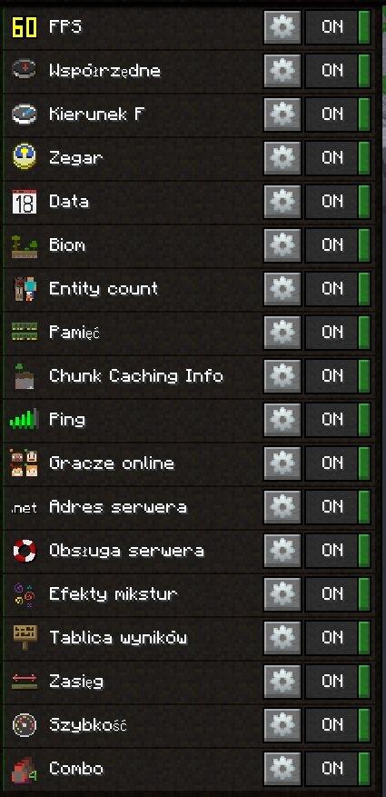 labymod edytor GUI Informacje