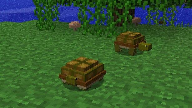 Mo-Creatures-Minecraft-żółw