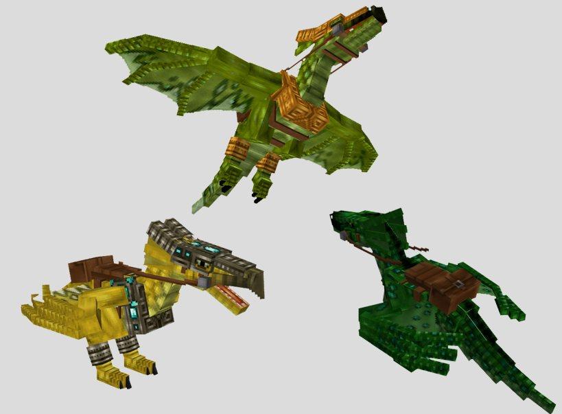 Mo-Creatures-Minecraft-Mod-dragons