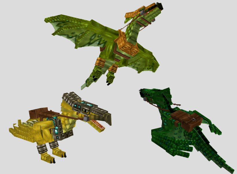 Mo-Creatures-Minecraft-Mod-dragons