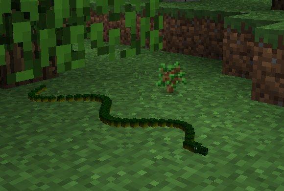 Mo-Creatures-Minecraft-wąż