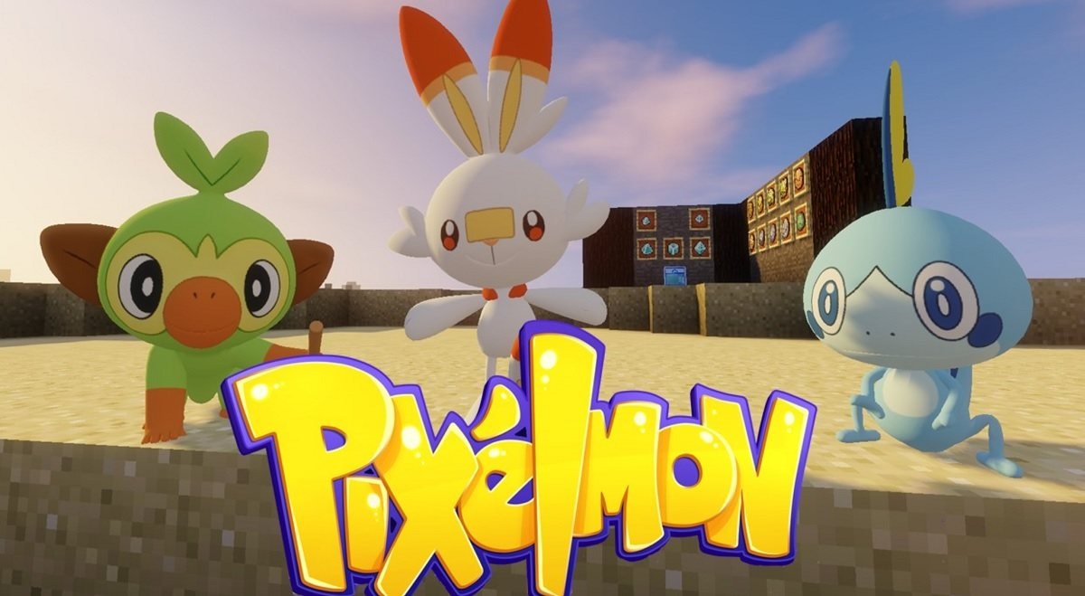 gry pokemon pixelmon mod pokemony minecraft