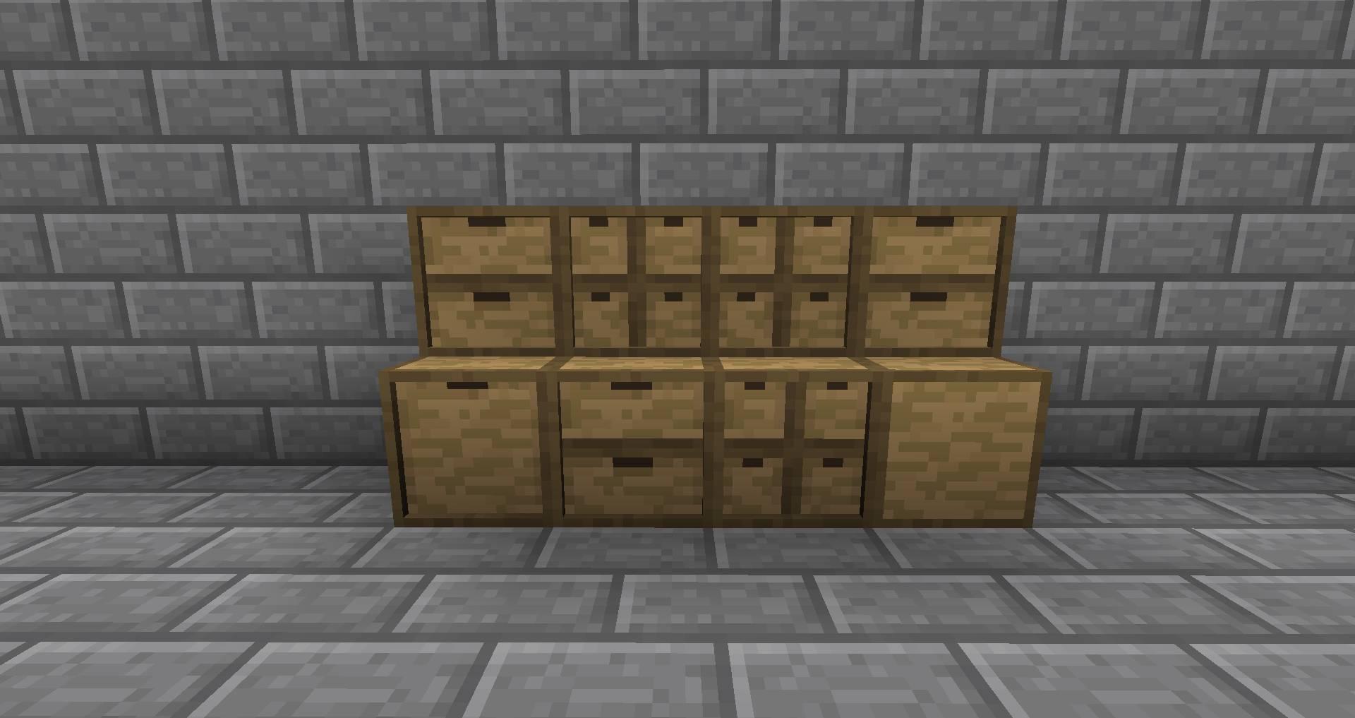 storage drawers szafki