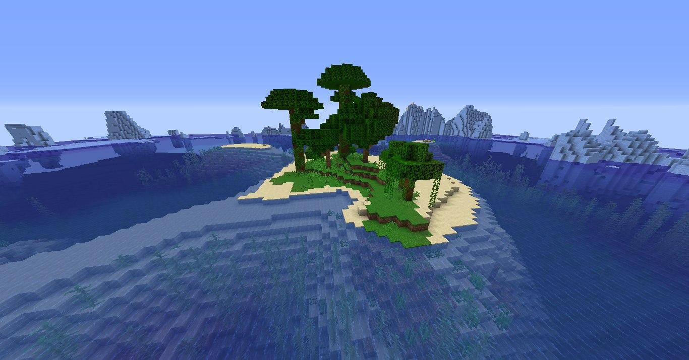najmniejsza dzungla w minecraft