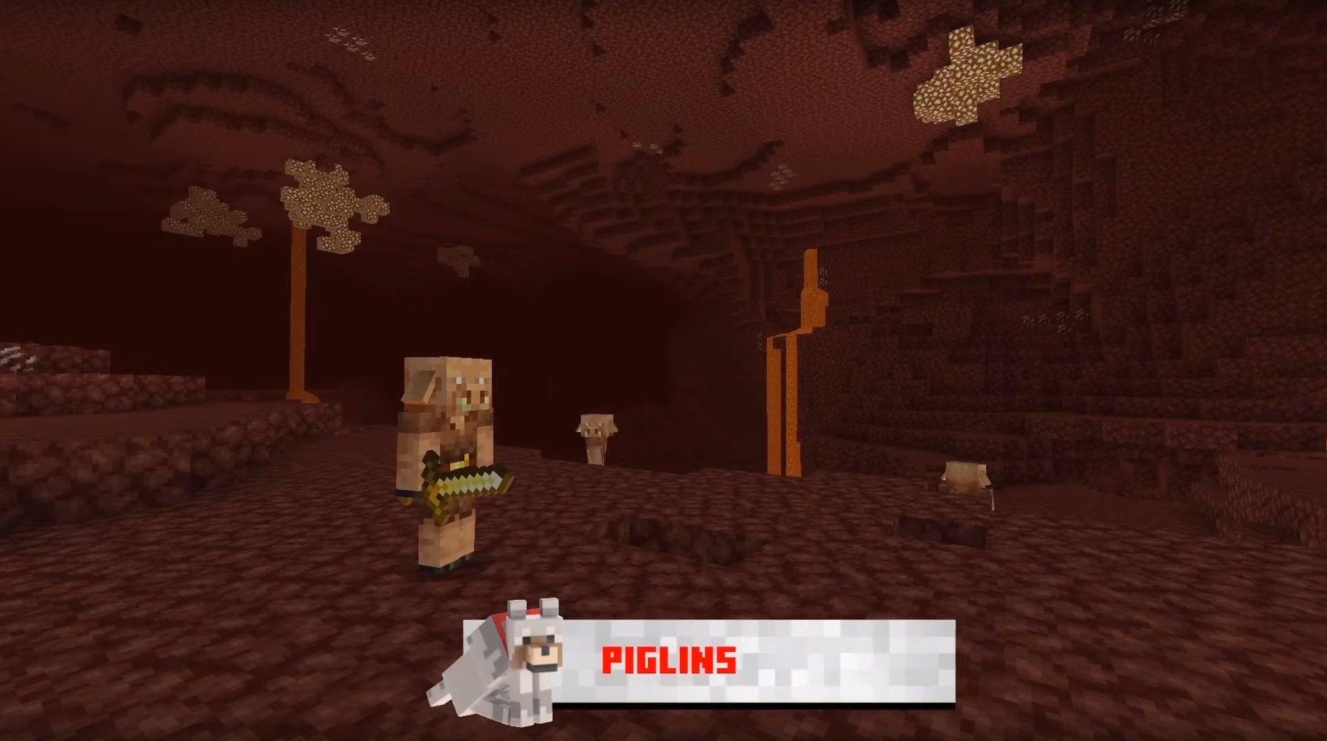 piglins minecraft 1.16