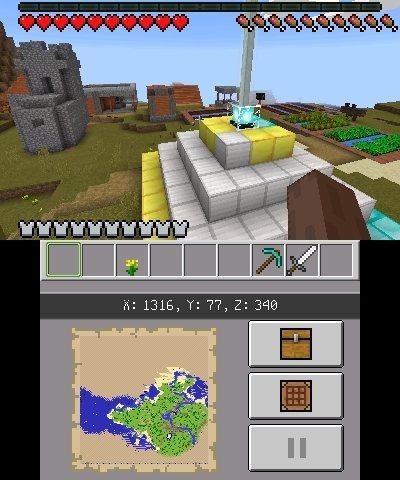 magiczna latarnia edycja nintendo 3ds minecraft