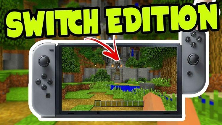 nintendo switch edition minecraft