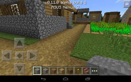 mcpe 11 sciezki w trawie wioska