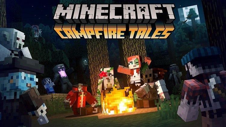 Minecraft Campfire Tales pocket