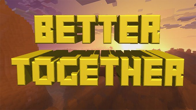 better together minecraft pocket 1.2