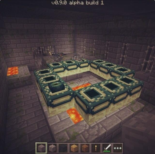 end-portal-silverfish-mob-spawner-mcpe-0.9.0