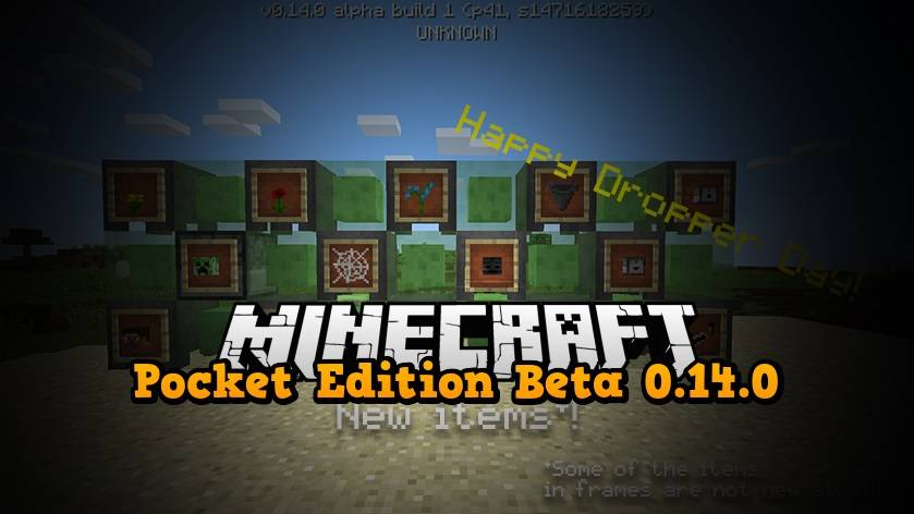 pocket edition 0.14.0 alpha