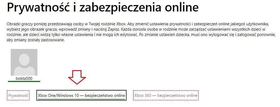 faild to login null konto xbox ustawienie bezpieczenstwa online