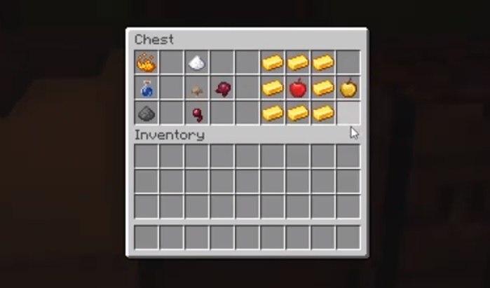przedmioty potrzebne do uleczenia zombie osadnika minecraft