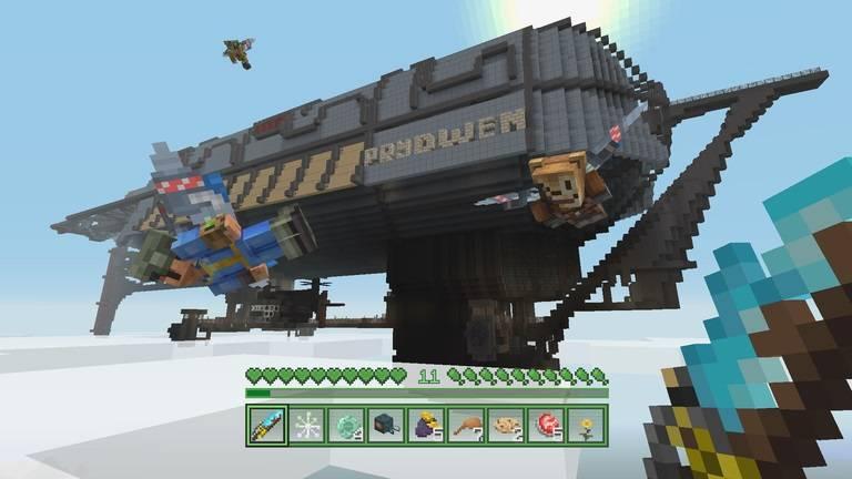 fallout dlc minecraft statek
