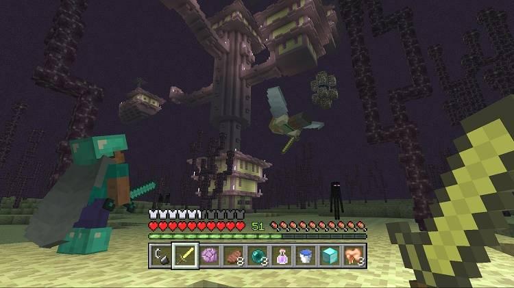 minecraft na konsole swiateczna aktualizacja 2016