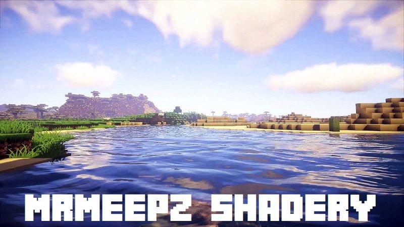 MrMeepz shadery minecraft jasne cieple