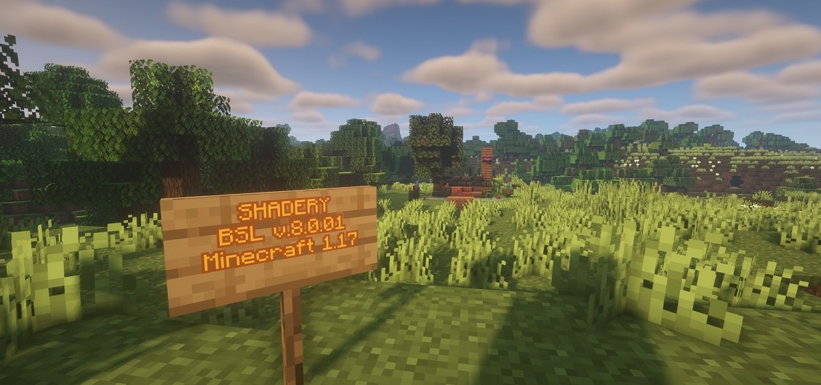bsl shadery minecraft 1.17