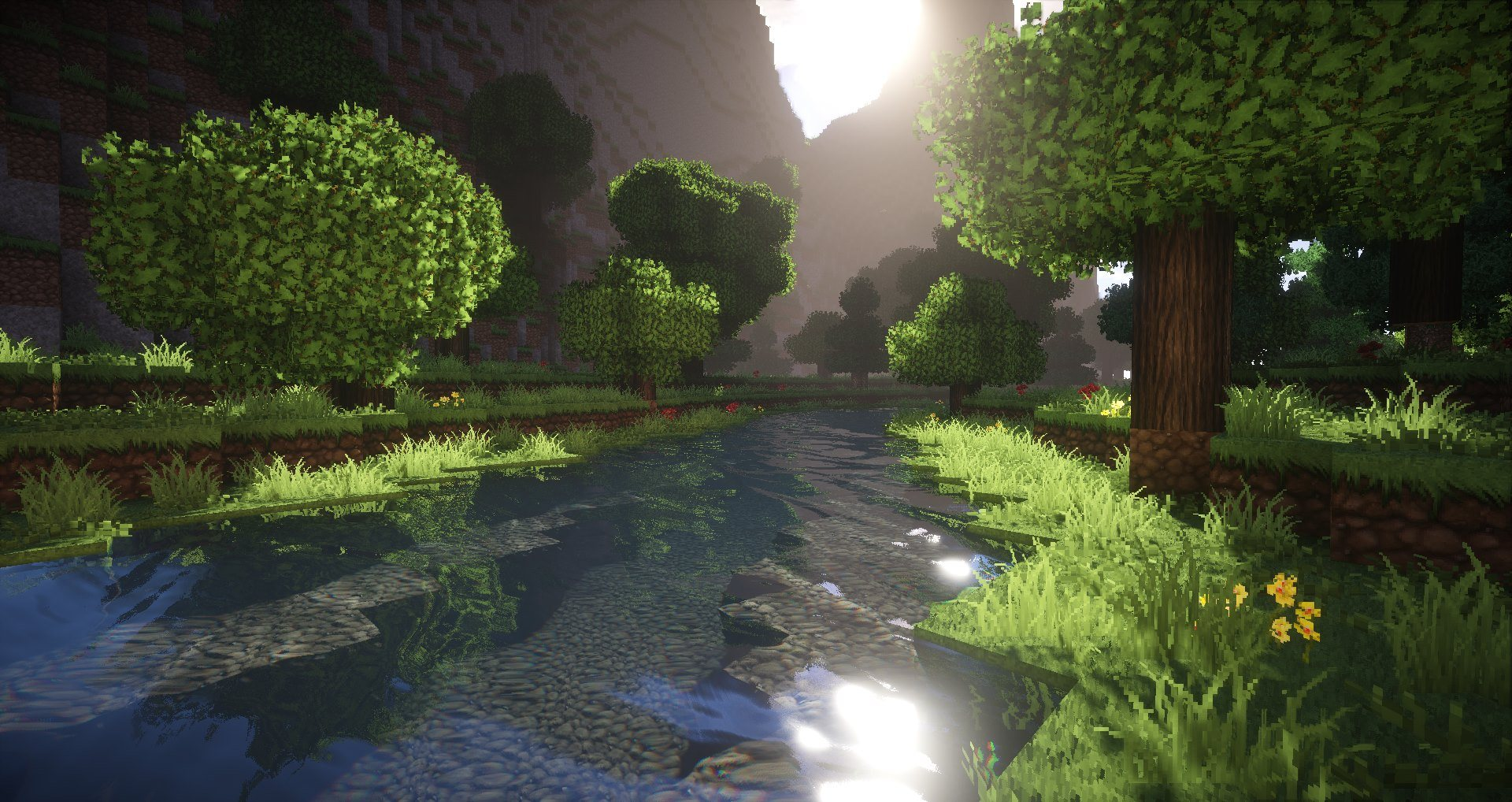 continuum 2.0 minecraft shaders 1.14.4 img3