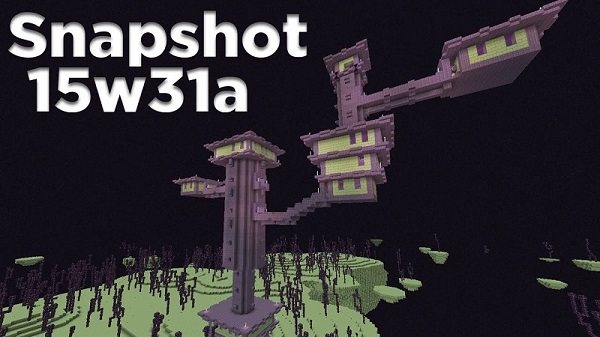 snapshot 15w31a minecraft 1.9