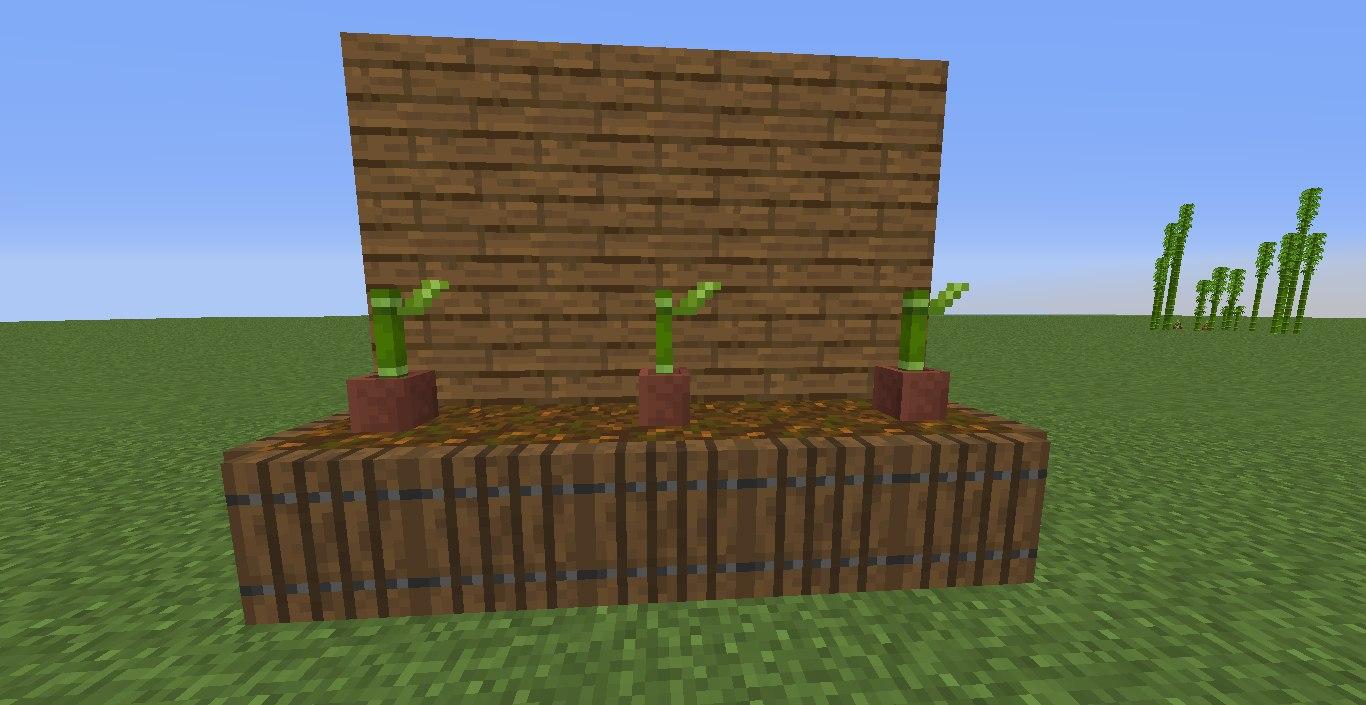snapshot 18w43a bambus w doniczce