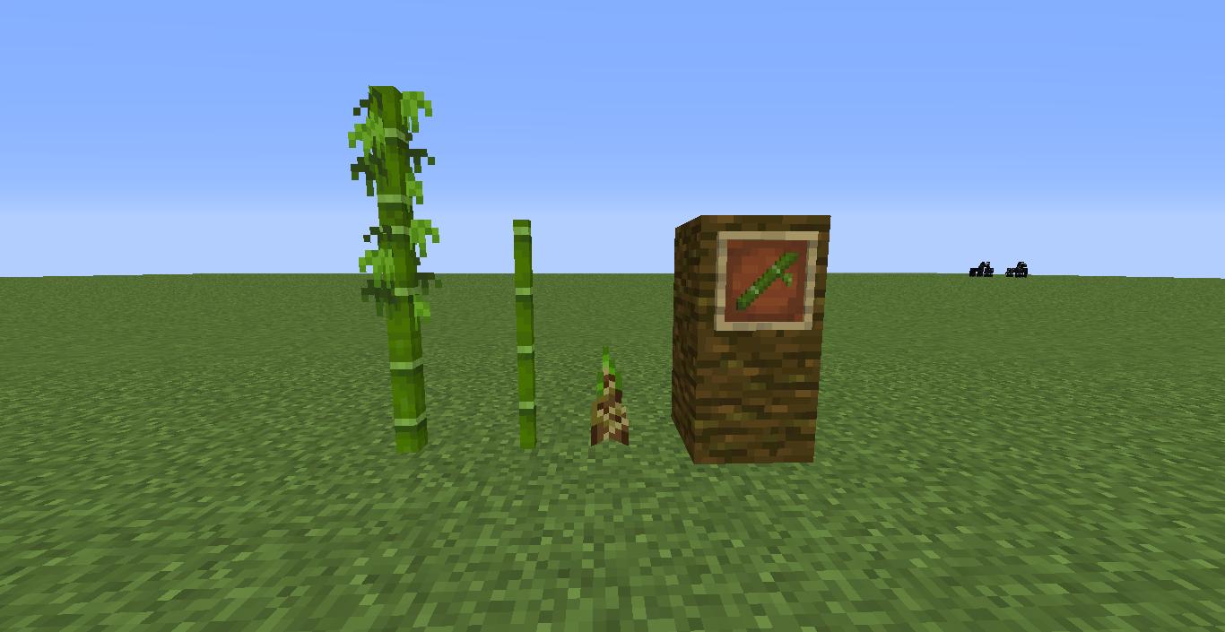 snapshot 18w43a bambus