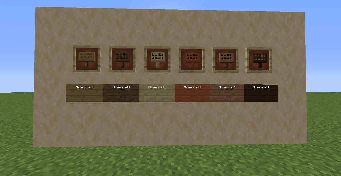 snapshot 18w43a nowe tabliczki z tekstem