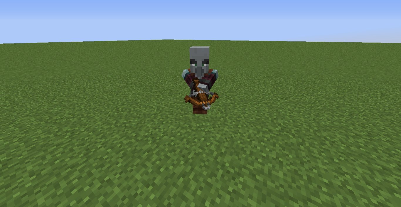 snapshot 18w43a pillager 2
