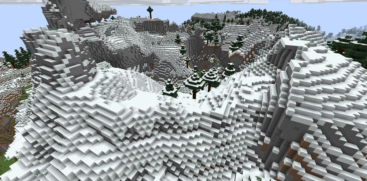Minecraft 1.18 ekeprymentalny snapshot 4 biomy6