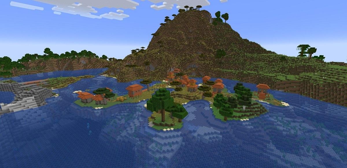 Minecraft 1.18 ekeprymentalny snapshot 4 biomy7