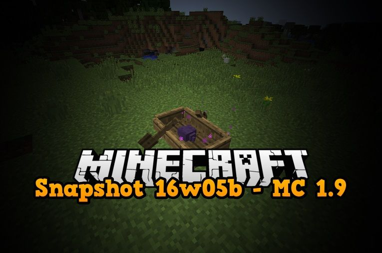 snapshot 16w05a minecraft