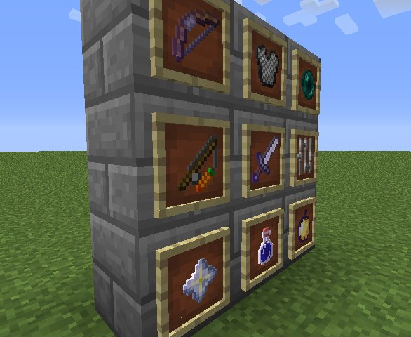 3d-items-in-frame-minecraft