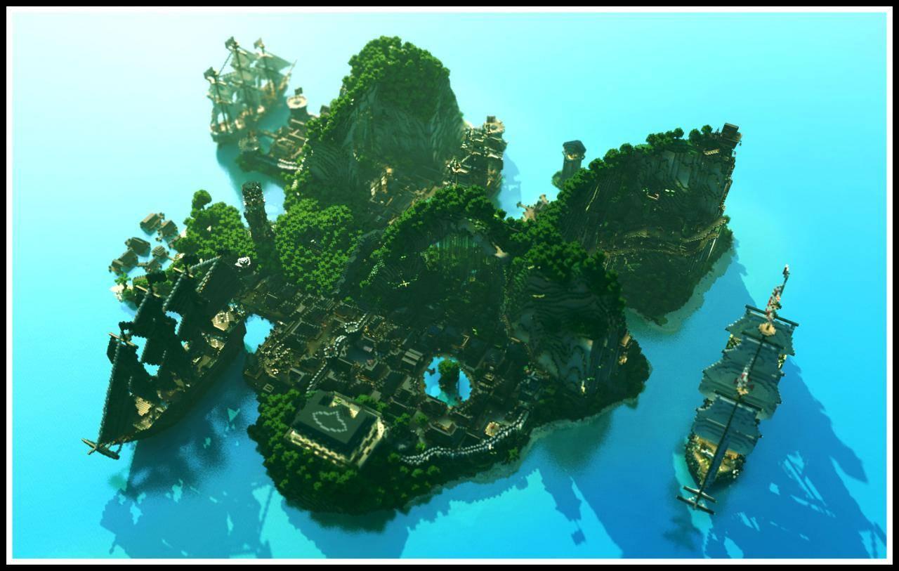 minecraft-island