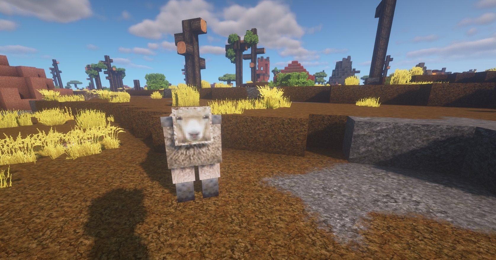 LB Photo Realism Reload 1.16.x LPBR sheep