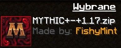 MYTHIC 1.17 ikona paczka zasobow Minecraft