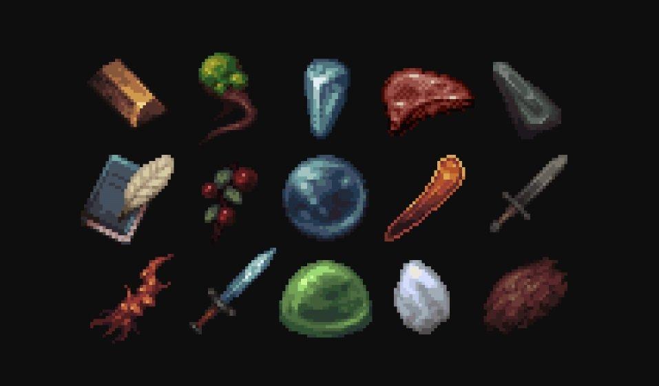 MYTHIC paczka tekstur zasobow 1.15 ikonki przedmiotow