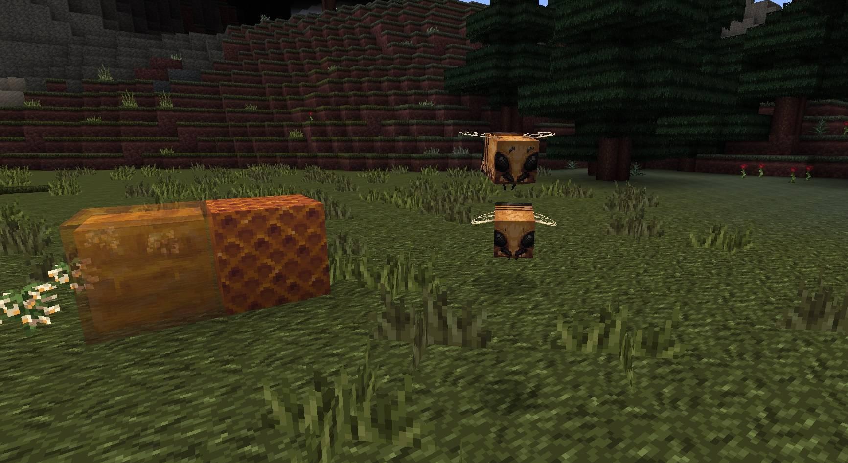 MYTHIC paczka tekstur zasobow 1.15 pszczola blok miodu