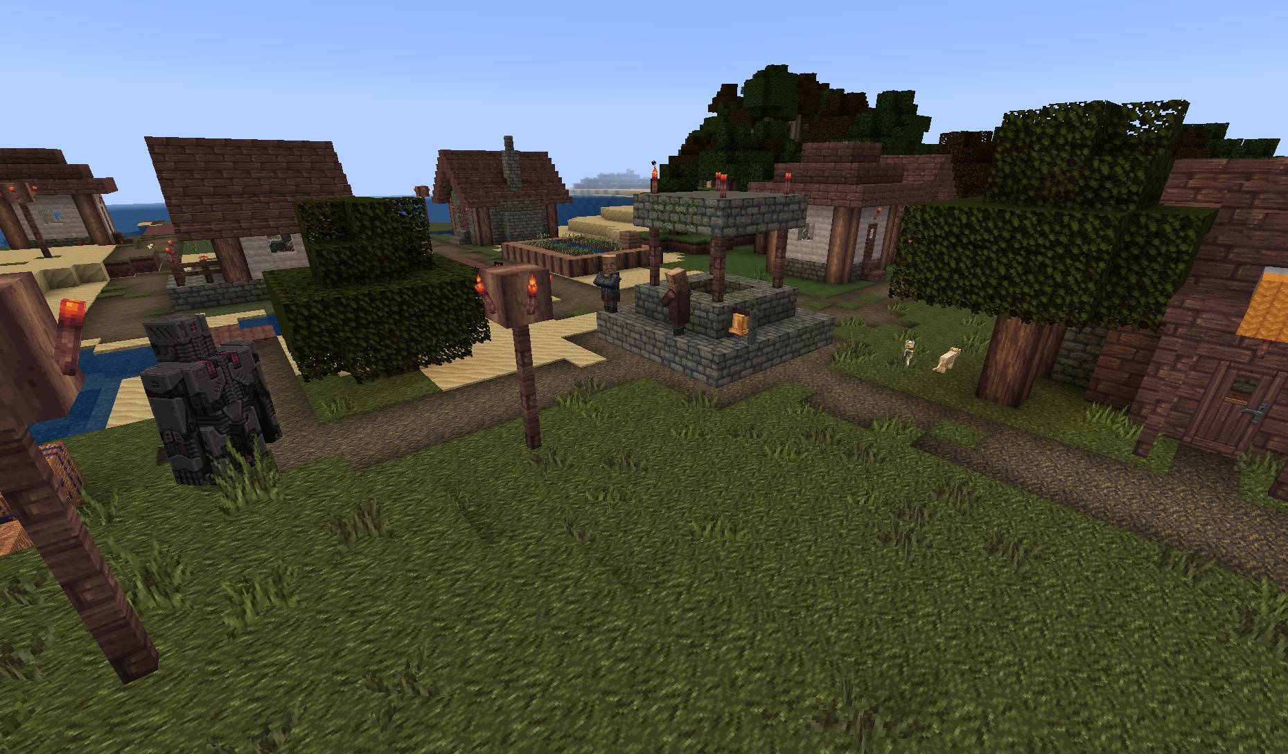MYTHIC paczka tekstur zasobow 1.15 wioska osadnikow