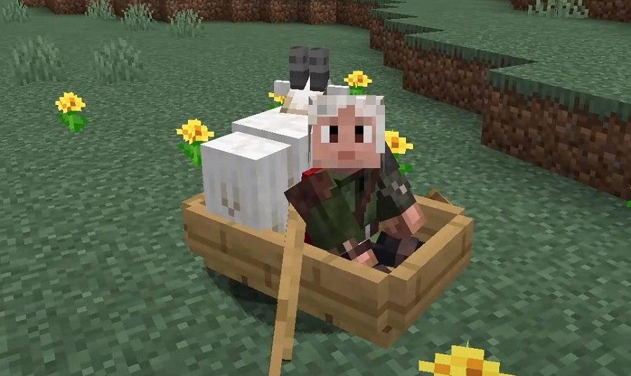 koza w lodzi minecraft nowe wyzwanie