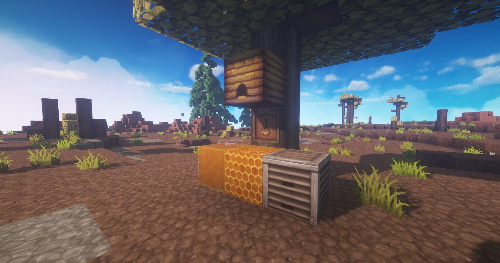 ChromaHills RPG tekstury minecraft bloki miodowe 1.15