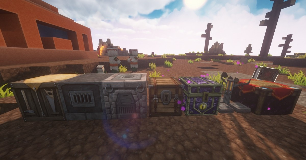 ChromaHills RPG tekstury minecraft bloki techniczne