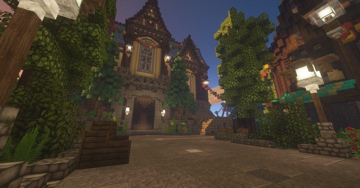 ChromaHills RPG tekstury minecraft serwer lobby mc mineland pl