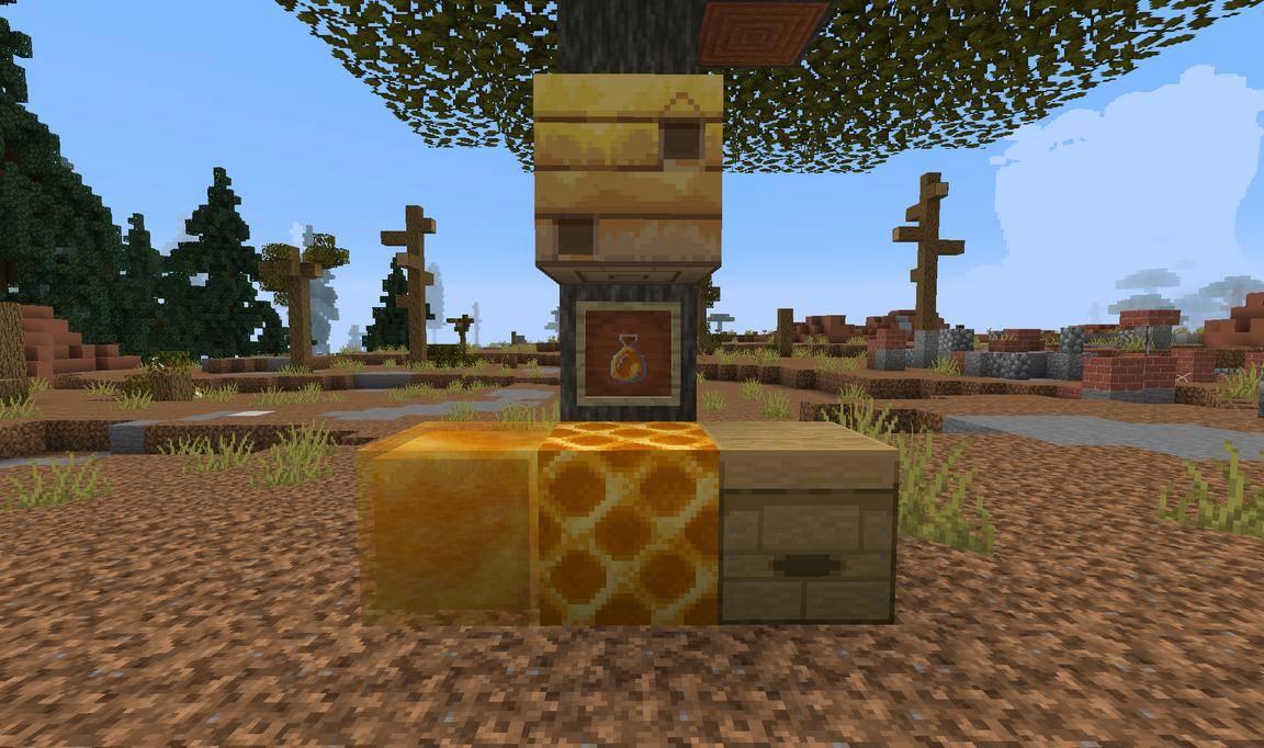 faithful tekstury 1.15.2 blok miodu ul gniazdo