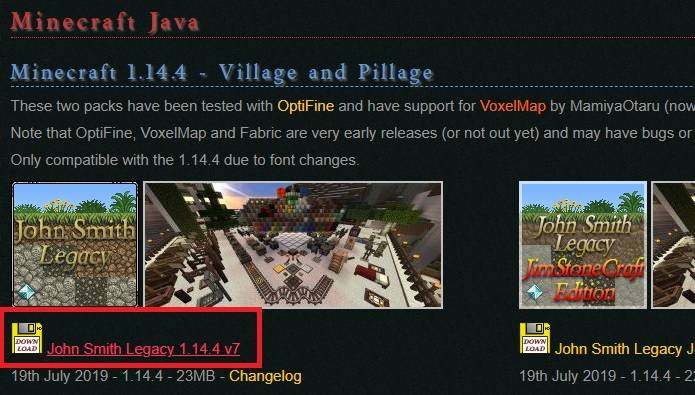 how to download john smith legacy texture pack minecraft polska