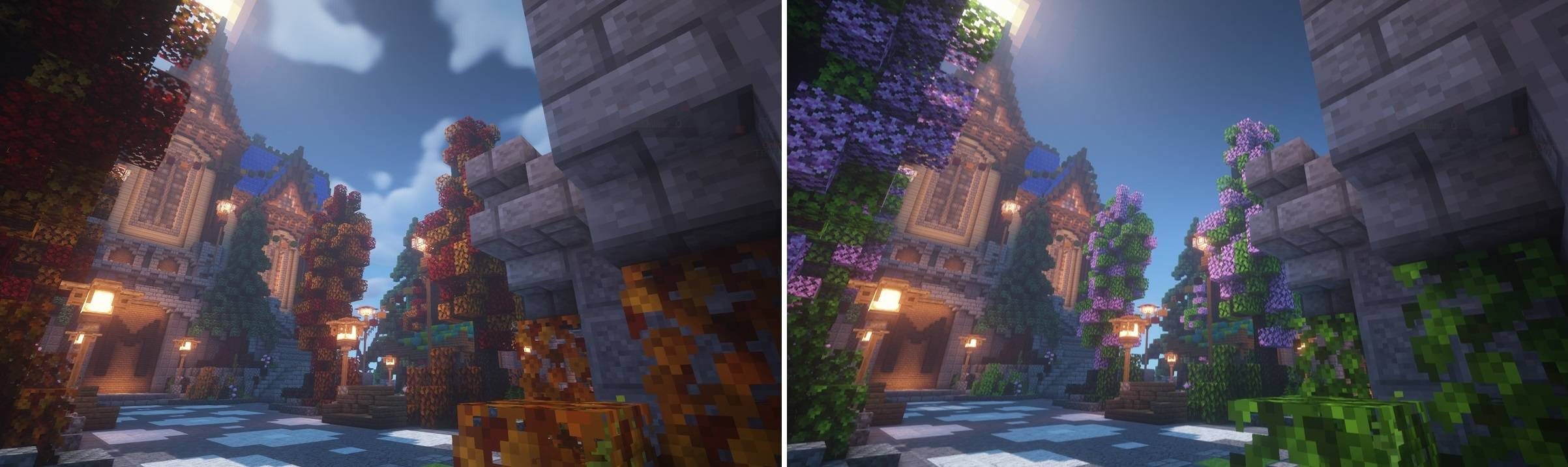jicklus resource pack 1.14.4 minecraft wiosna jesien