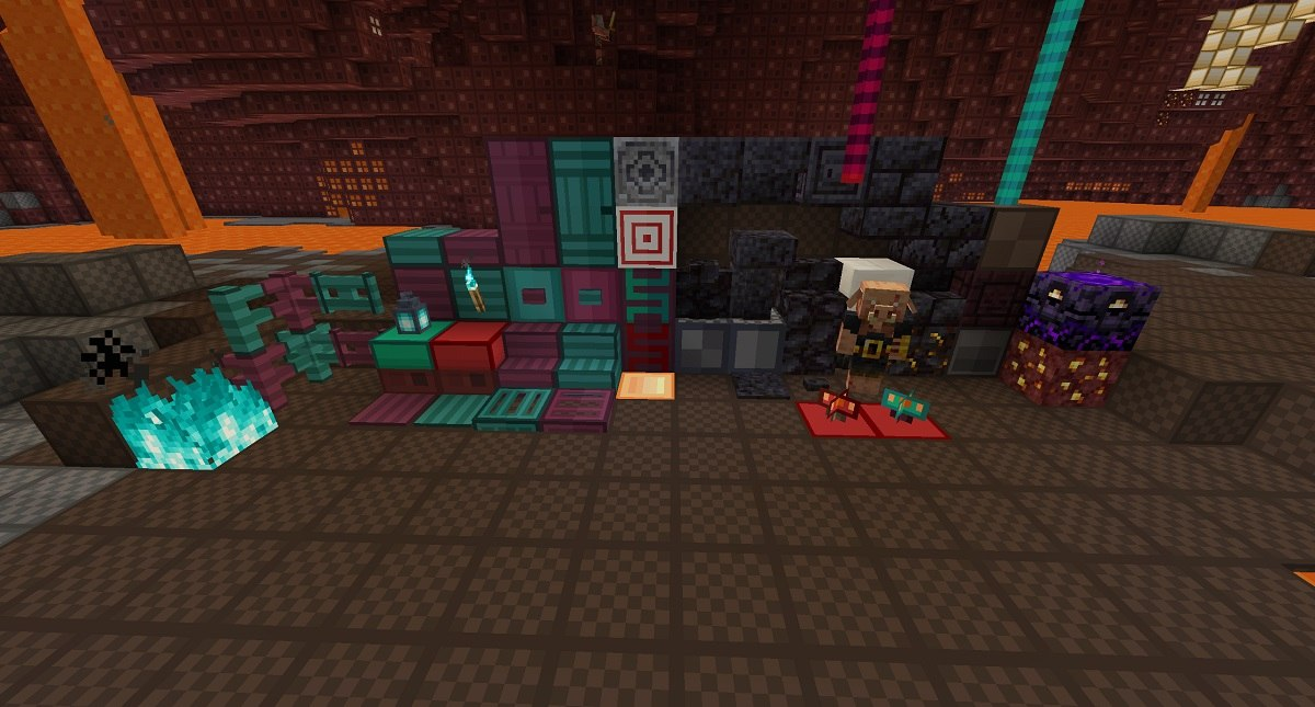 oCd nether update 1.16.2 minecraft java all new blocks