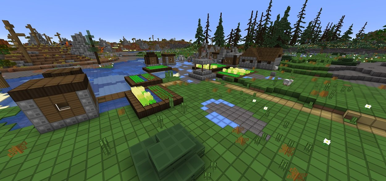 oCd tekstury Minecraft 1.16.2 img 2