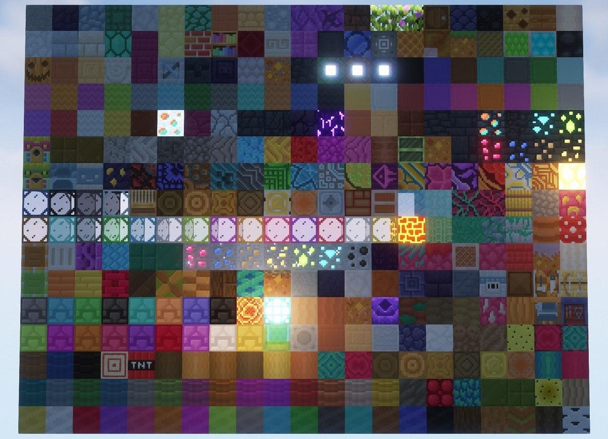 PastelCraft resourcepack all blocks