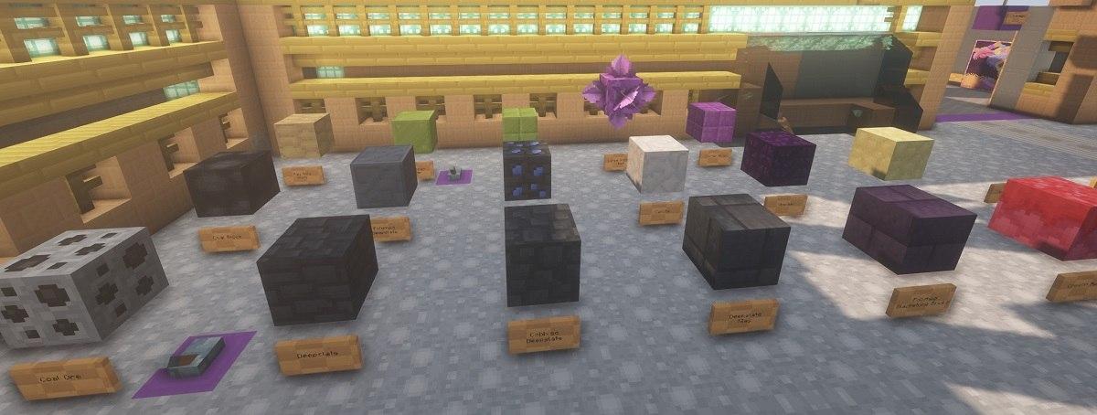 PastelCraft resourcepack ore blocks